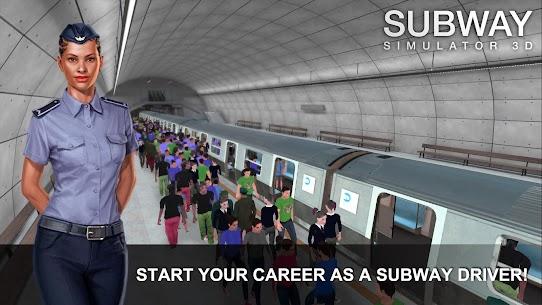Subway Simulator 3D MOD APK (Unlimited Money) 1