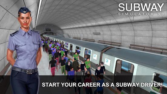 Subway Simulator 3D 3.7.1 Screenshots 1