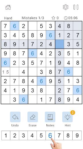 Daily Sudoku Classic - Free Sudoku Puzzle 1.0.4 screenshots 3