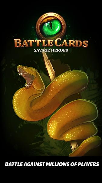 Battle Cards Savage Heroes TCG CCG Decks