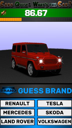 Cars Quiz 3D 2.3.0 screenshots 15