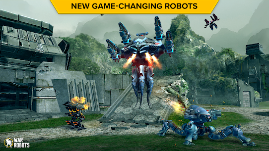 War Robots Mod Apk Unlimited Gold v6.8.1 2