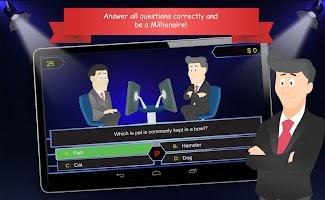 Millionaire Quiz Game