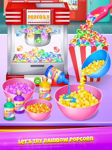 Popcorn Maker - Yummy Rainbow Popcorn Food screenshots 11
