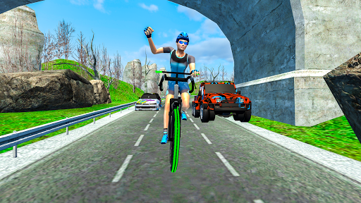Light Bike Fearless BMX Racing Rider 2.1 screenshots 6
