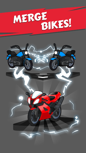 Merge Bike game Latest screenshots 1