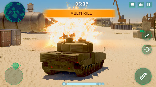 War Machines: Tank Battle - Army & Military Games  screenshots 4