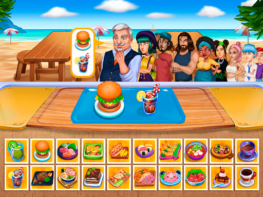Cooking Fantasy: Be a Chef in a Restaurant Game apkmr screenshots 8