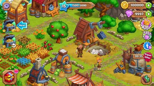 North Dragon Island - build Vikings Farm  screenshots 13