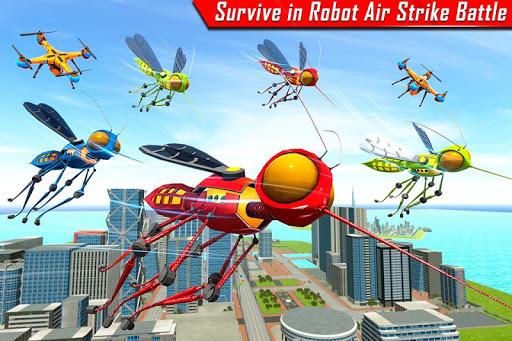 Mosquito Robot Car Game - Transforming Robot Games 1.0.8 screenshots 6