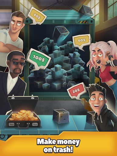 Trash Tycoon: idle clicker & simulator & business  screenshots 9