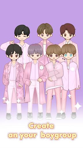 MYIDOL (#Dress up #BoyGroup #k-star #k-pop) 2.0.15 screenshots 1