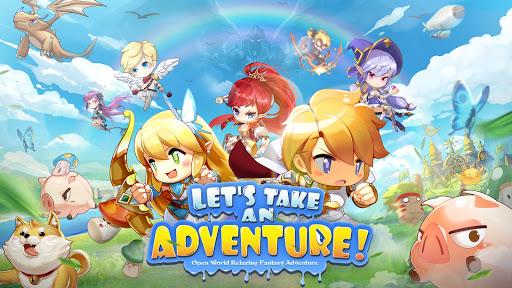 Rainbow Story: Fantasy MMORPG screenshots 1