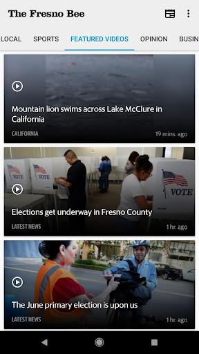 Fresno Bee newspaper 7.7.0 screenshots 1