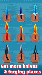 Merge Knife - Idle Blacksmith Master