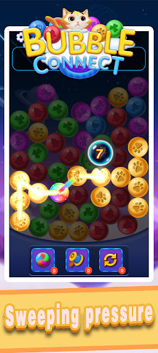 Bubble Connect - bubble match and puzzle game  screenshots 1
