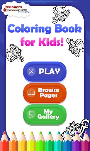 Coloring Book for Kids screenshots 12