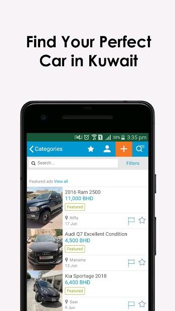 Captura de Pantalla 5 de Used Cars in Kuwait para android