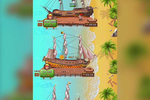 Pocket Ships Tap Tycoon: Idle Seaport Clicker modavailable screenshots 7