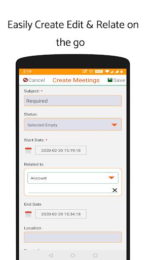 'ValCRM: SuiteCRM Mobile App'  screenshots 7