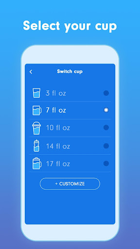 WaterBy: Water Drink Tracker Reminder & Alarm 1.7.2 Screenshots 3