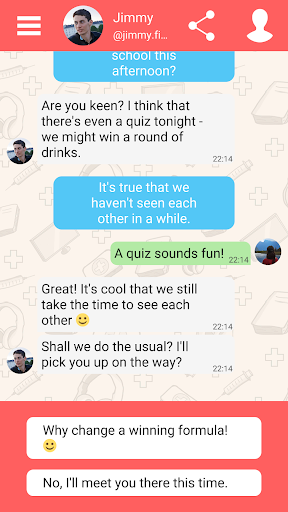 Hey Love Adam: Texting Game android2mod screenshots 6