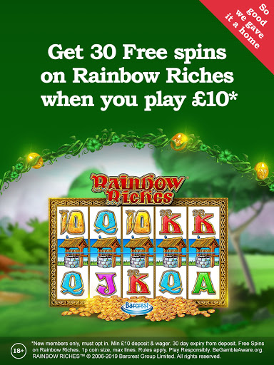 Rainbow Riches Casino: Slots, Roulette & Casino  screenshots 1