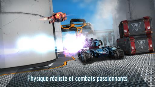 Code Triche Robots VS Tanks: Batailles multijoueur tactiques APK MOD (Astuce) screenshots 1