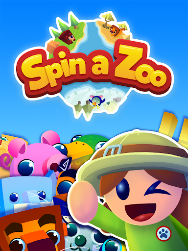 Spin a Zoo - Tap, Click, Idle Animal Rescue Game!  screenshots 11