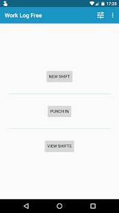Work Log Screenshot