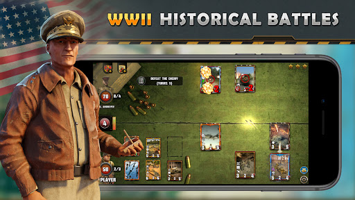World War II: TCG - WW2 Strategy Card Game 3.1.6 screenshots 1