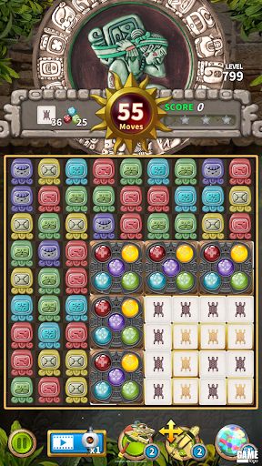 Glyph of Maya - Match 3 Puzzle  screenshots 4