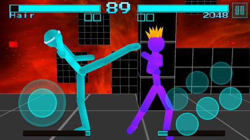 Stickman Fighting: Neon Warriors screenshots 2