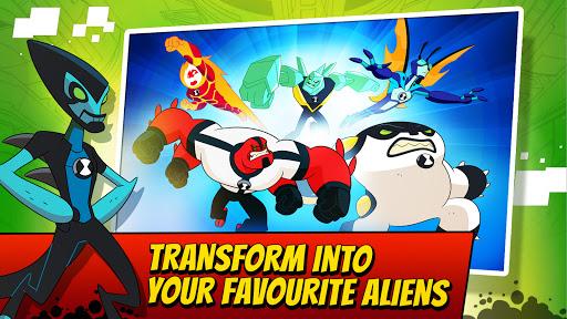Ben 10 Alien Run apkslow screenshots 3