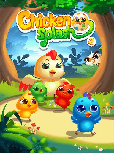 Chicken Splash 2 - Collect Eggs & Feed Babies apktram screenshots 13