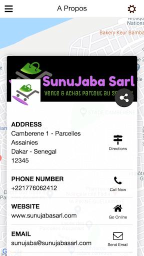 Sunujaba Sarl  screenshots 3