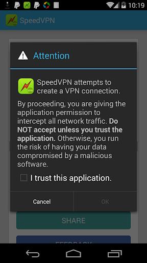 SpeedVPN Free VPN Proxy  Screenshots 3