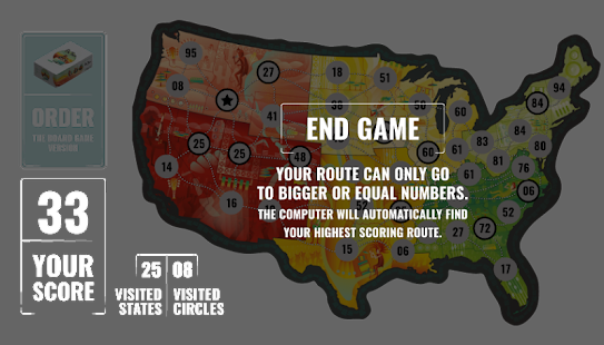 On Tour Board Game Screenshot