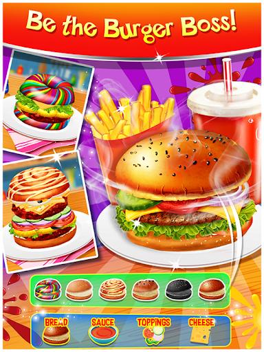 Happy Kids Meal Maker - Burger Cooking Game 1.2.9 screenshots 7