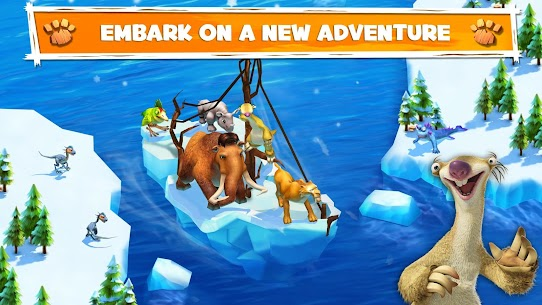 Download Ice Age Adventures Ice Age game for Android + mod + data 1