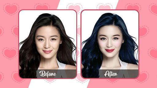 face makeup selfie camera - beauty photo editor screenshot 1