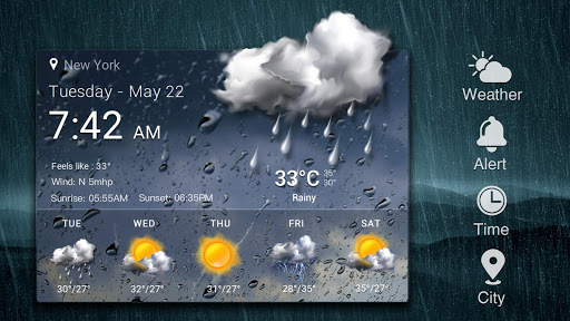 Free Weather Forecast App Widget 16.6.0.6304_50160 Screenshots 13