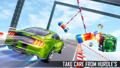 Mega Ramp Car Stunts 3D: Ramp Stunt Car Games apktram screenshots 12