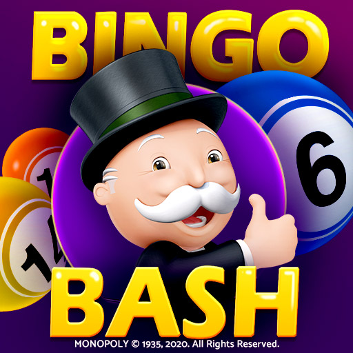Help MR. MONOPOLY become rich with Bingo Bash featuring the MONOPOLY bingo room!
