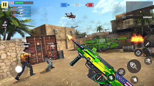 Rebel Wars u2013 Fps Shooting Game: New Fps Games 2020 1.9 screenshots 1