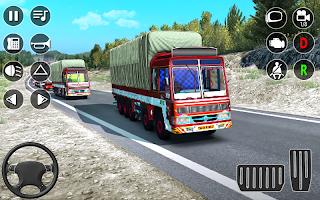 American Truck Simulator Game