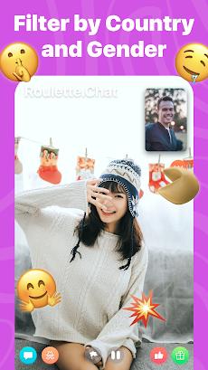 Roulette Video Chat Random Omegle Strangers Onlineのおすすめ画像4