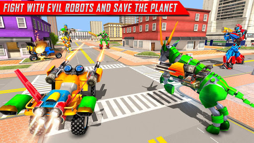 Goat Robot Transforming Games: ATV Bike Robot Game screenshots 7