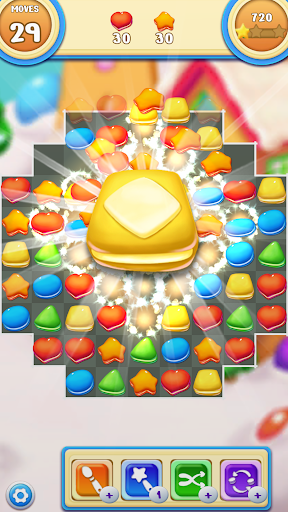Cookie Macaron Pop : Sweet Match 3 Puzzle 1.5.4 screenshots 5