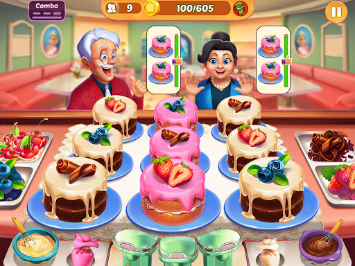 Cooking Crush: New Free Cooking Games Madness Apkfinish screenshots 13